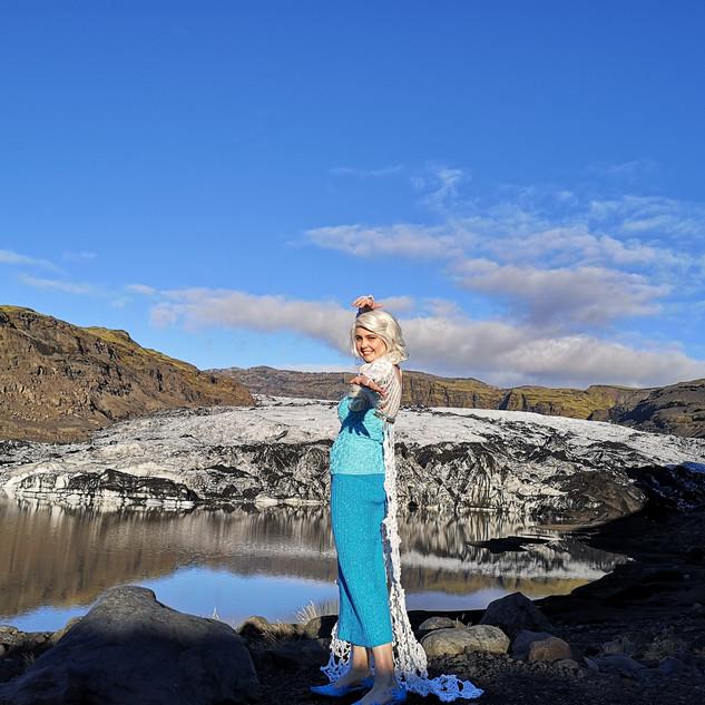 Queen Elsa's ice dress