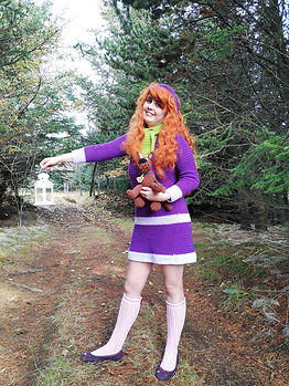 Daphne scooby doo crochet cosplay