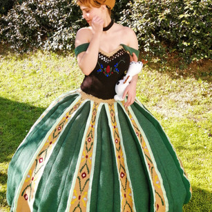 Princess Anna's ballgown