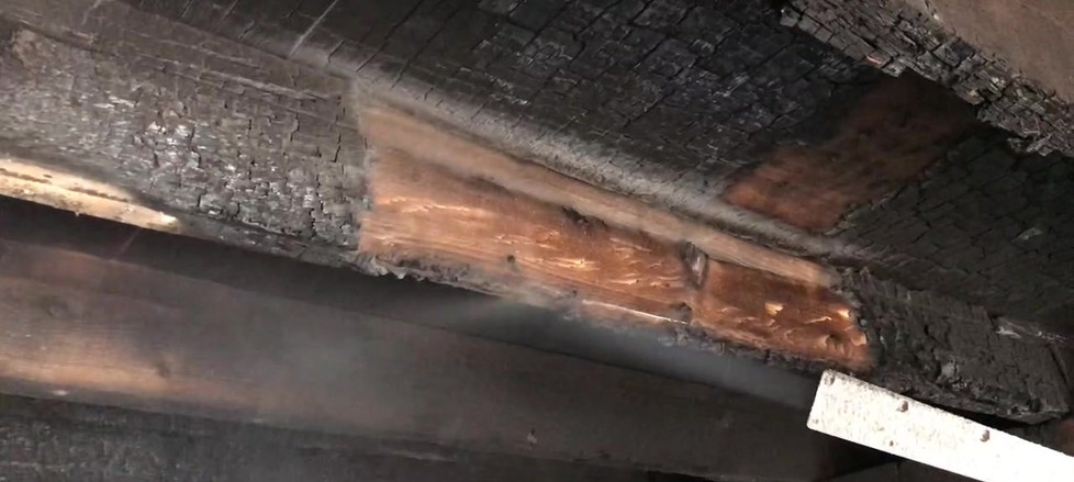 Wood Char Removal