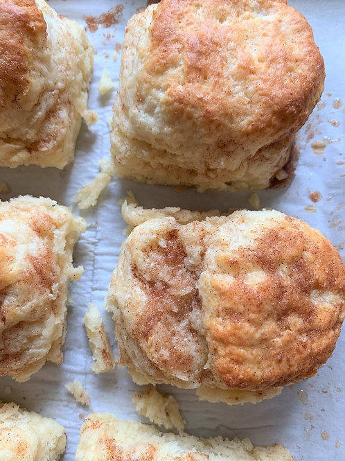Cinnamon Sugar Topped Biscuits