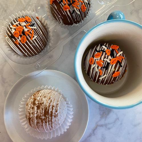 Cocoa Bomb/ White Chocolate Pumpkin Spice Coffee Bomb Pack