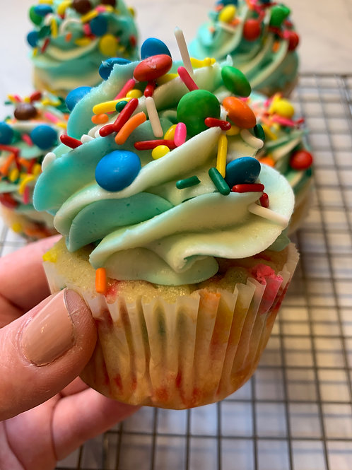 Funfetti Cupcake-NJ delivery only