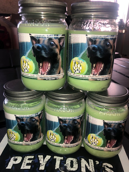 Sugarcreek Candle Co. Peyton's K9s Special Edition