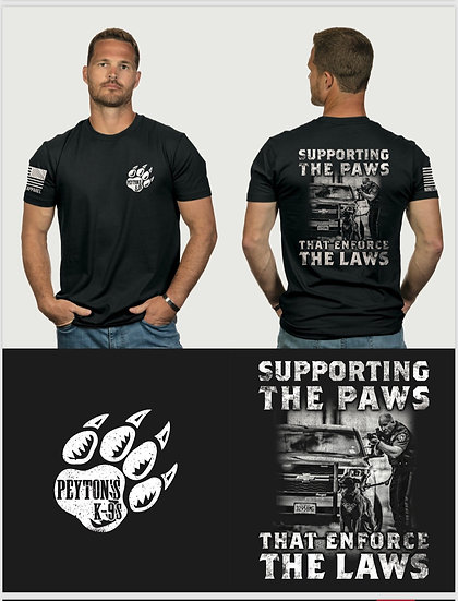 Support the paws T-shirt