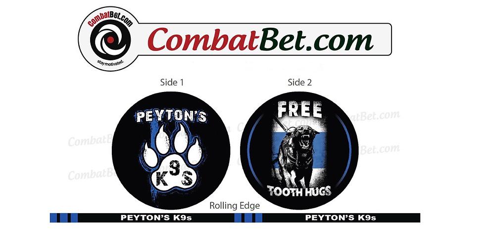 Peyton's K9s Challenge Coin