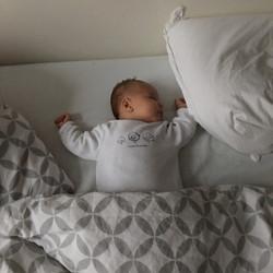 sleeping in the big bed 26 nov 2015