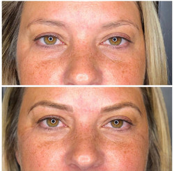 Microblading Before and After Session   Bronzed Humanity