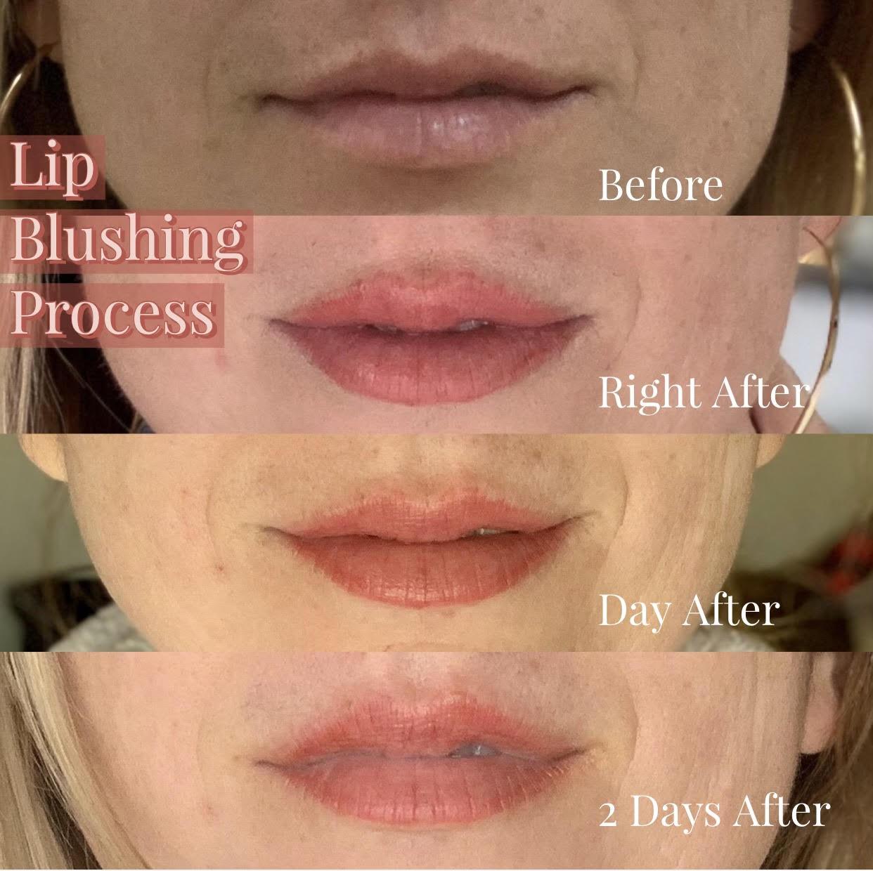 Lip Blushing | Bronzed Humanity