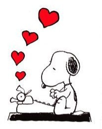 Legal Love Letters blog - Snoopy and his love letter?