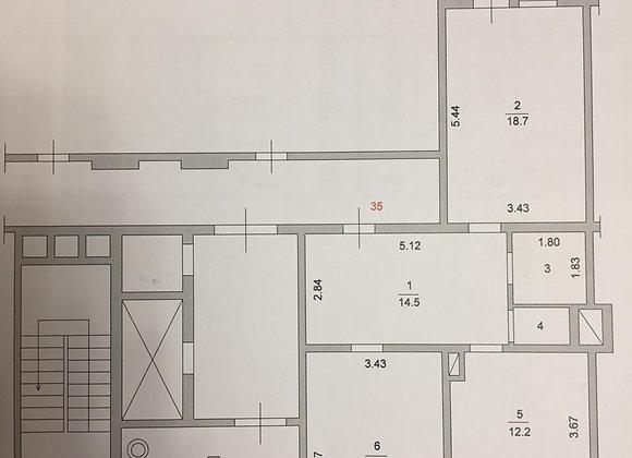 2-комнатная квартира в новом престижном доме