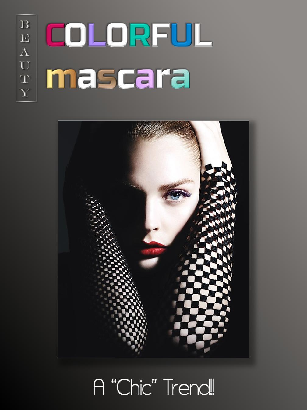 Colorful Mascara