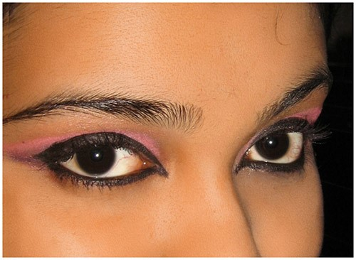 Arabic Eye Makeup: