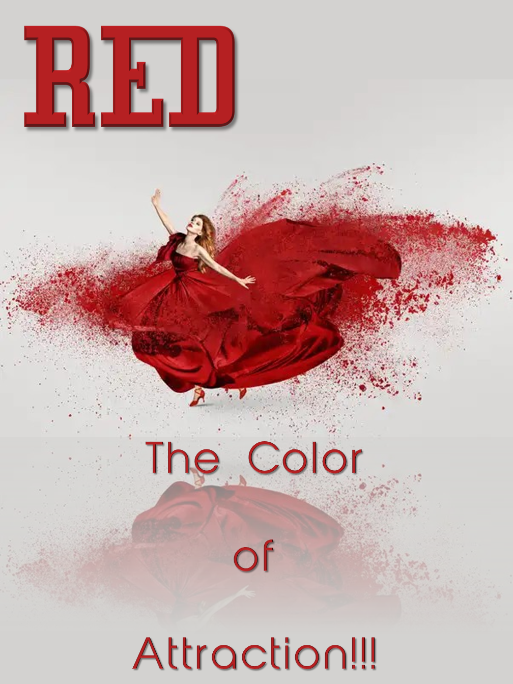 RED! The color of Attraction