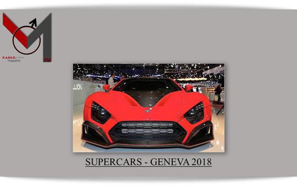 SUPERCARS - GENEVA 2018