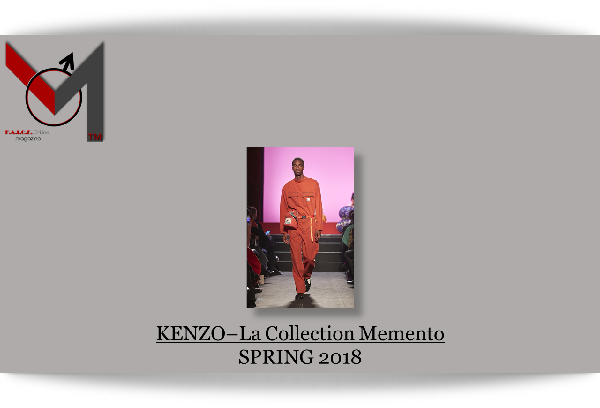 Kenzo - Spring 2018