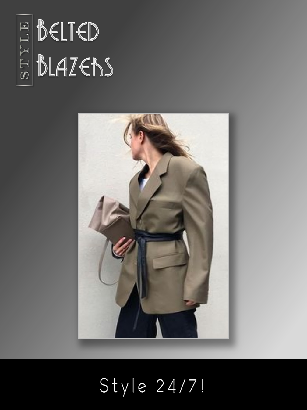 Belted Blazers