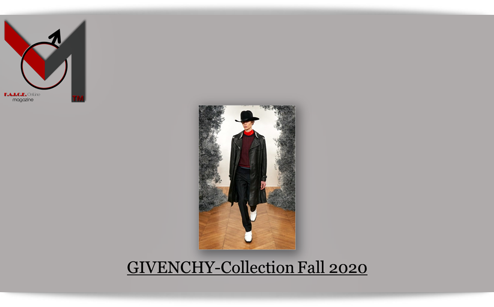 Givenchy-Collection Fall 2020