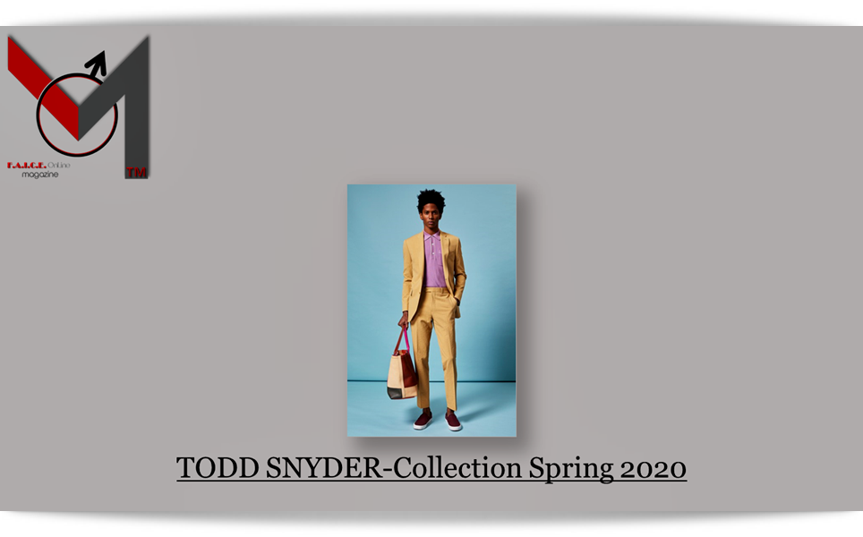 Todd Snyder-Collection Spring 2020