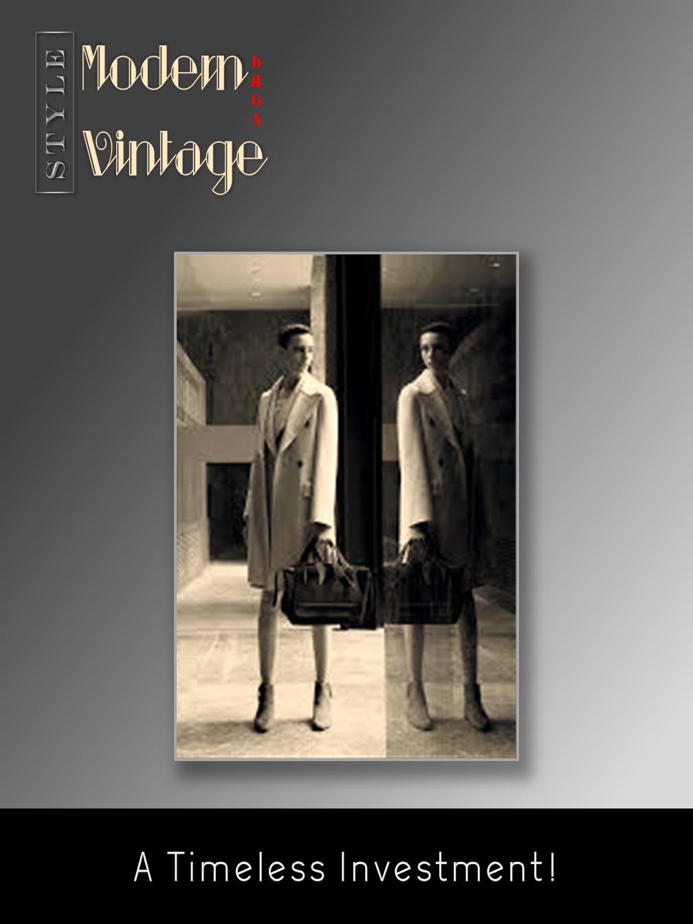 Modern ...Vintage Bags