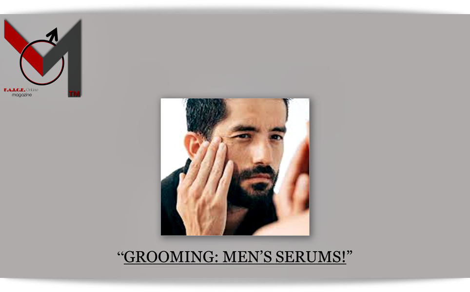 Grooming:Men's Serums
