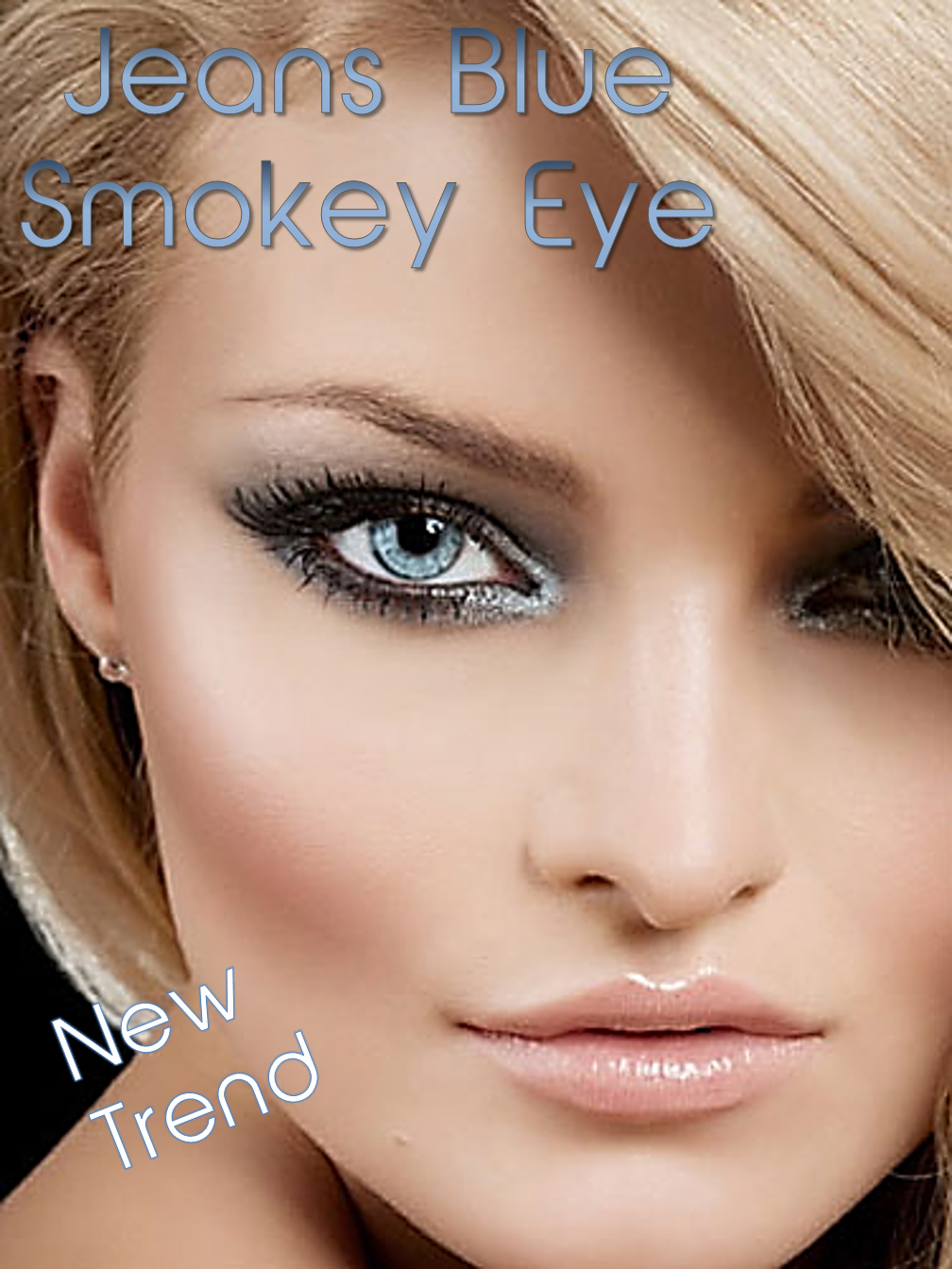 Jeans Blue Smoky Eye