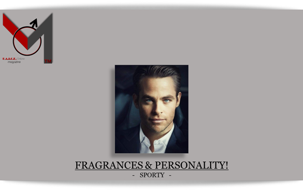 FRAGRANCES & PERSONALITY-SPORTY