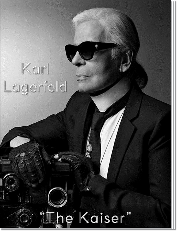 """KARL LAGERFELD: """"THE KAISER"""""""