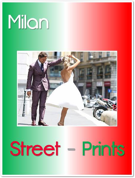 Milan Street Prints