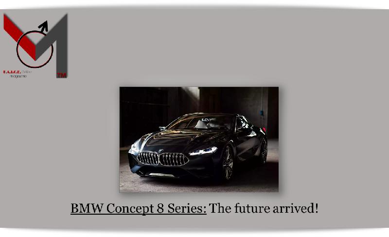 NEW! BMW 8