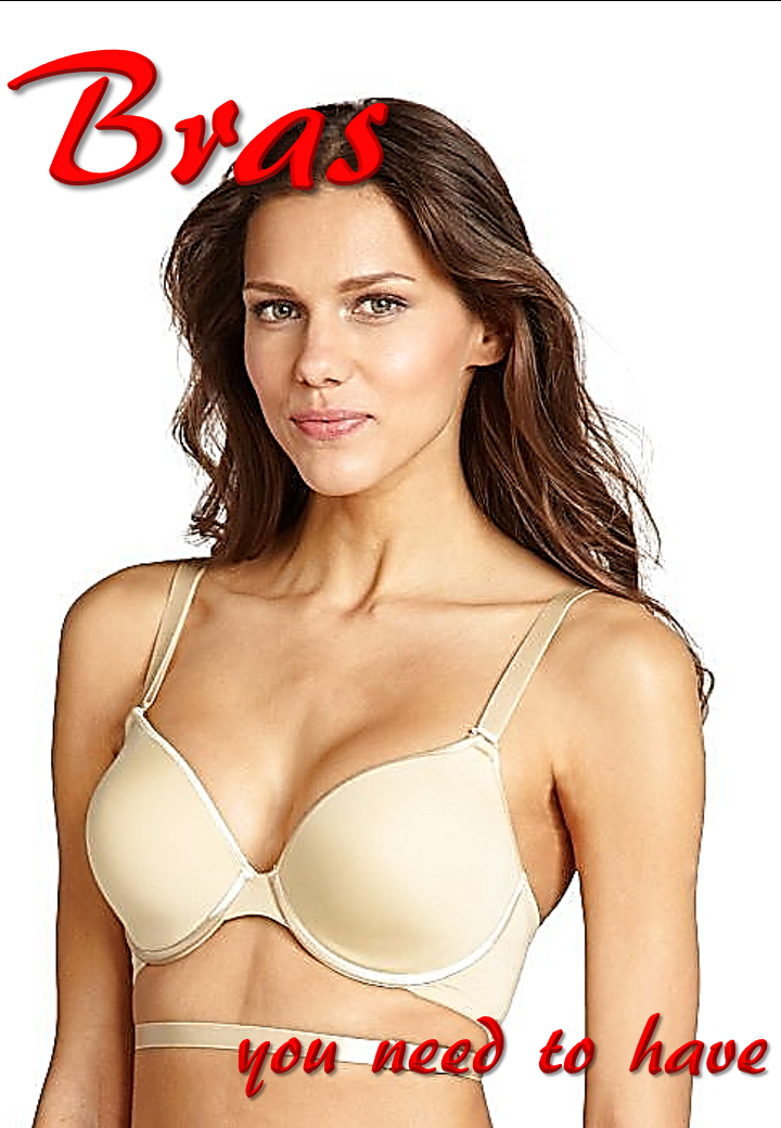 8 Bras you need