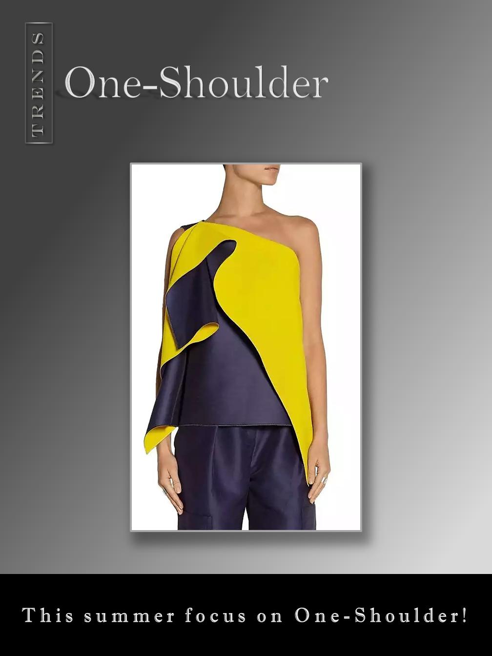 One Shoulder