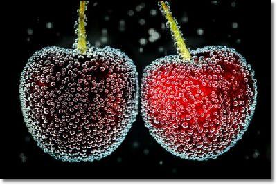 Cherries with... soda