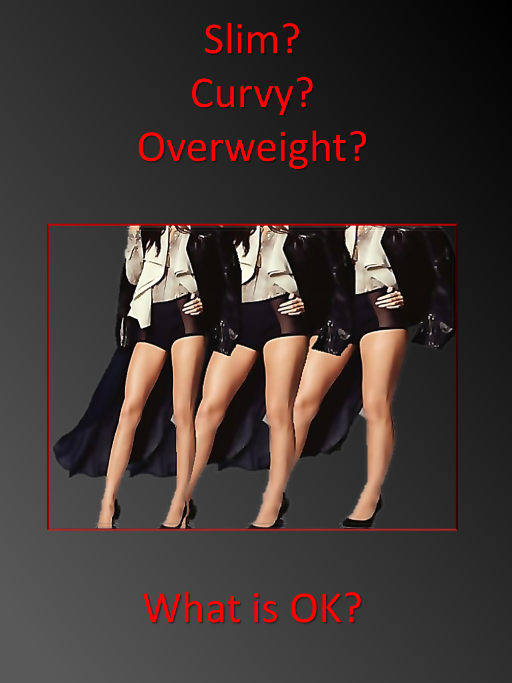 Slim, Curvy or Overweight?