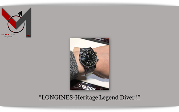 LONGINES Heritage Legend Diver Black