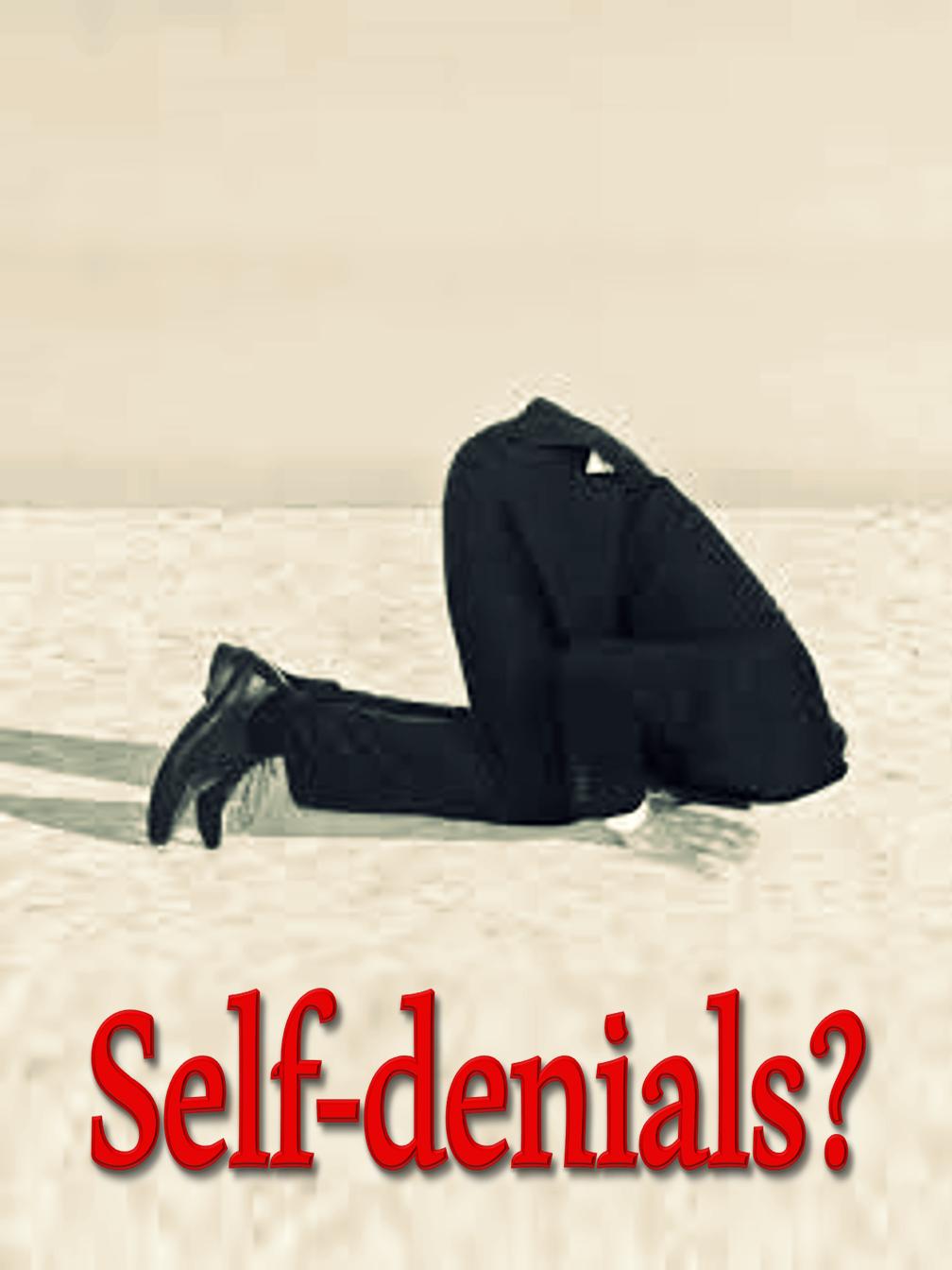 Self-denials