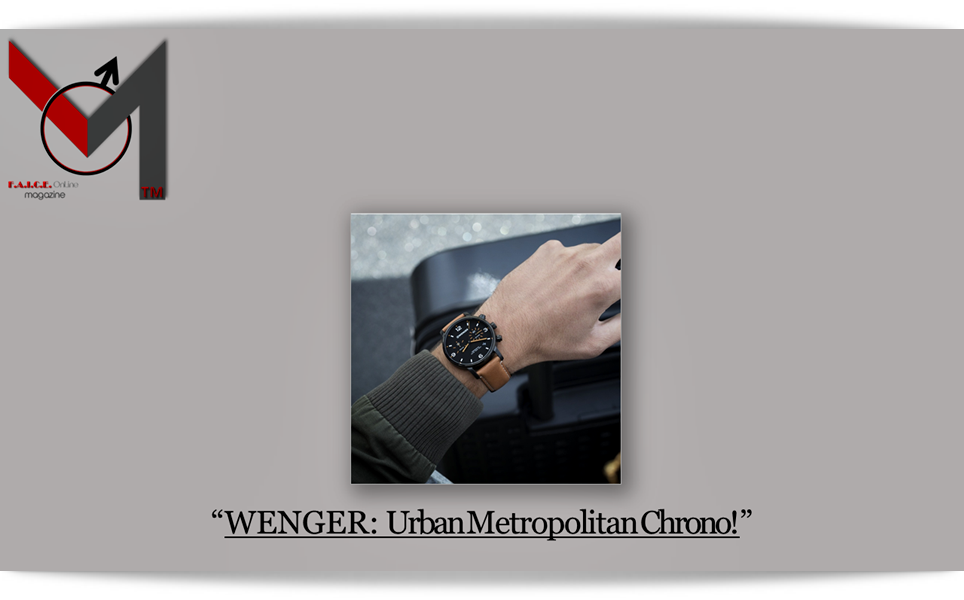WENGER: Urban Metropolitan Chrono
