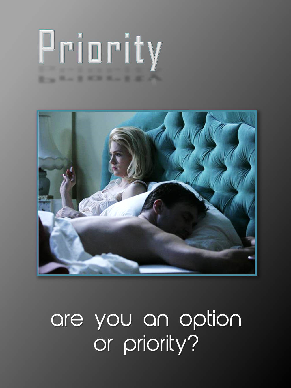 Priority or..?