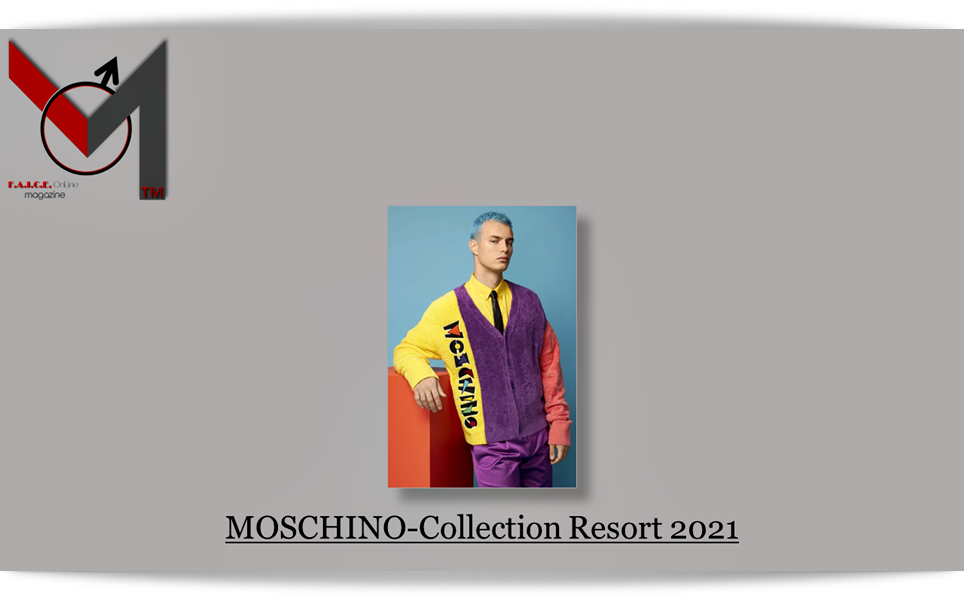 MOSCHINO Collection Resort 2021