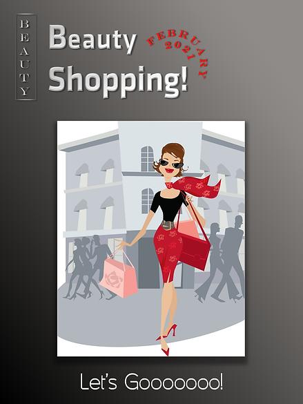 February's Beauty Shopping