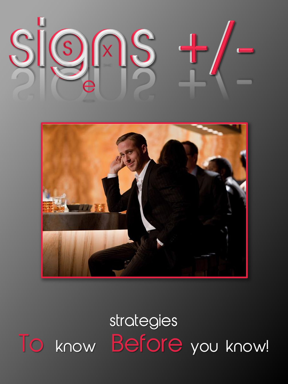 Signs +/-
