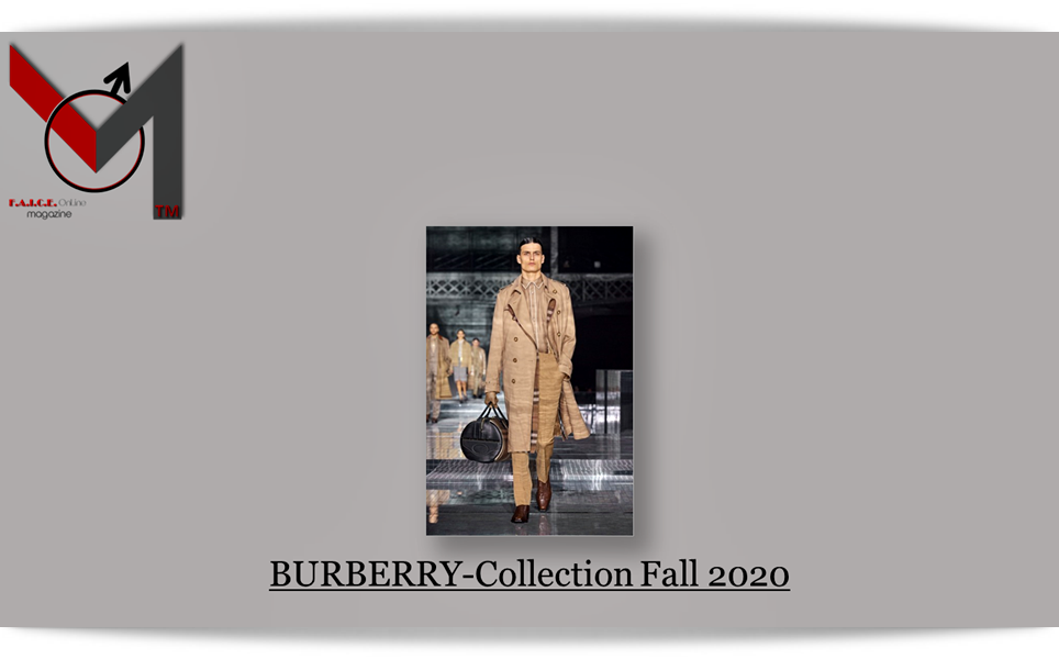 BURBERRY-Collection Fall 2020