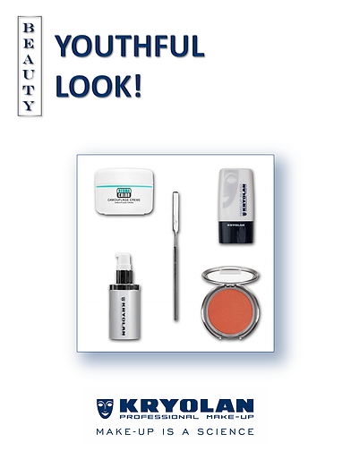 KRYOLAN, Youthful look, Beauty Advice, Be a Front Cover Girl with KRYOLAN
