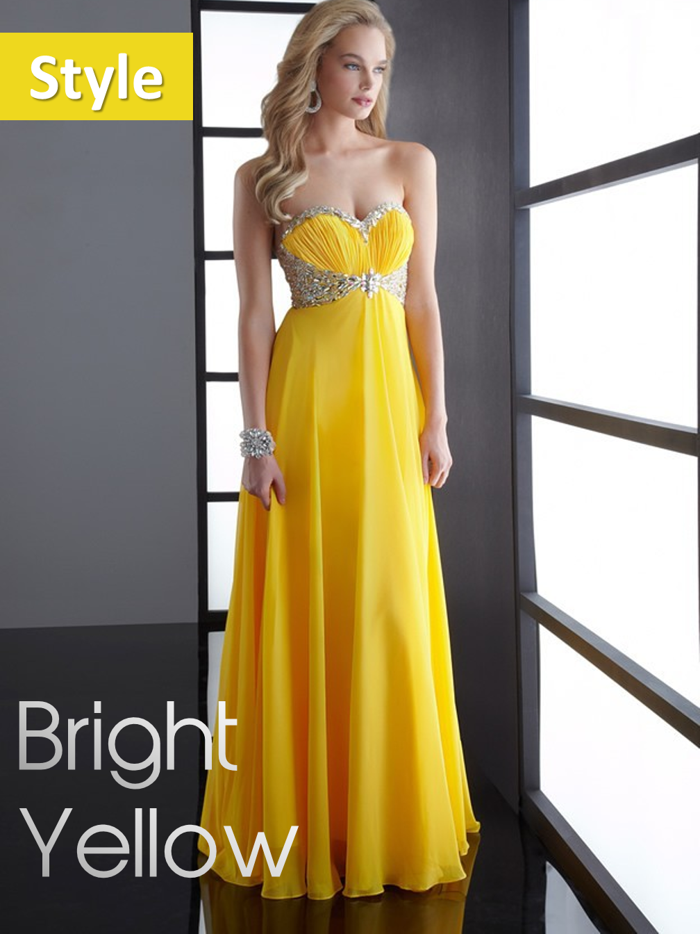 Bright Yellow Style