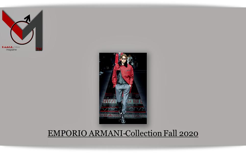 EMPORIO ARMANI-Fall 2020