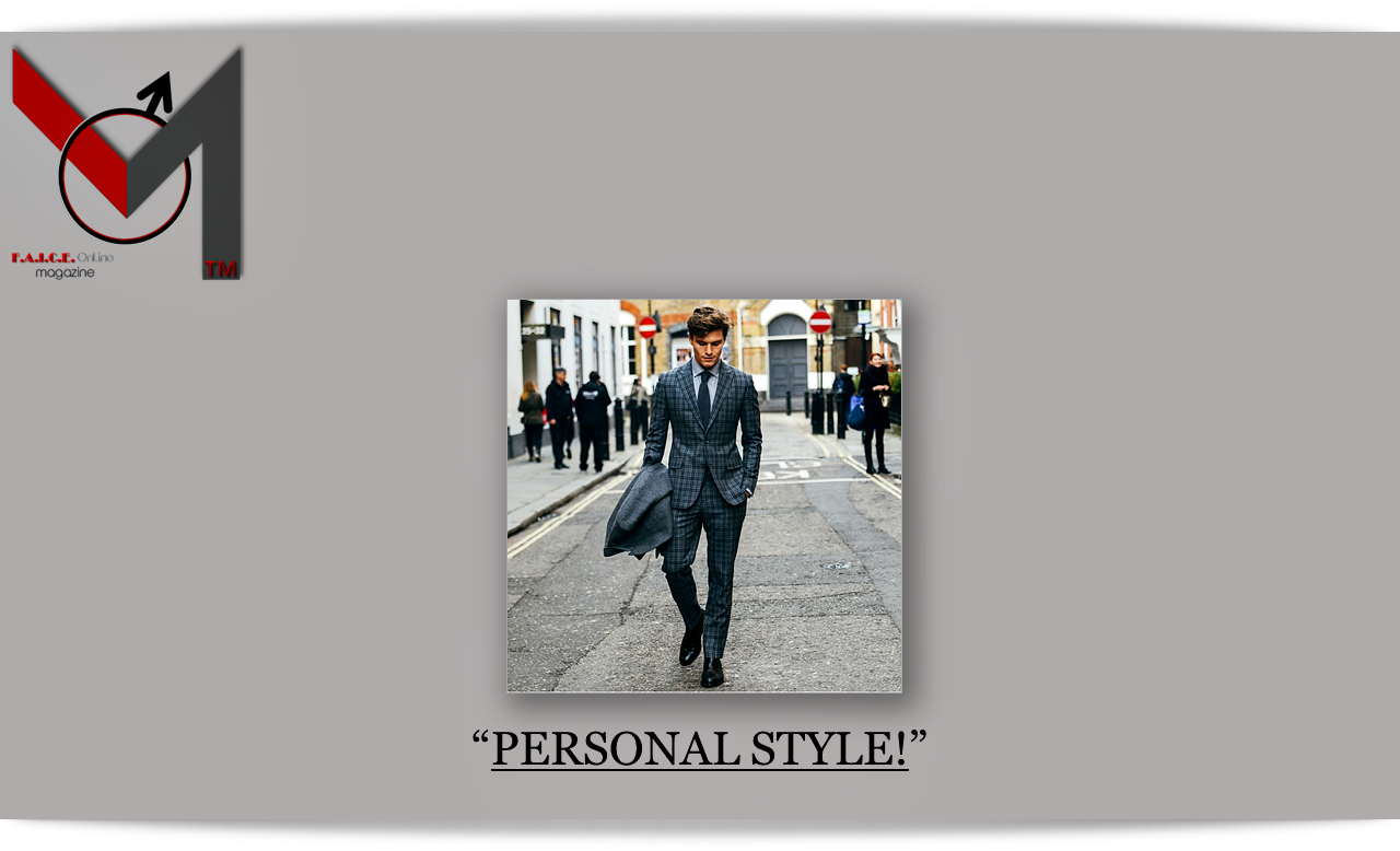 Personal Style!