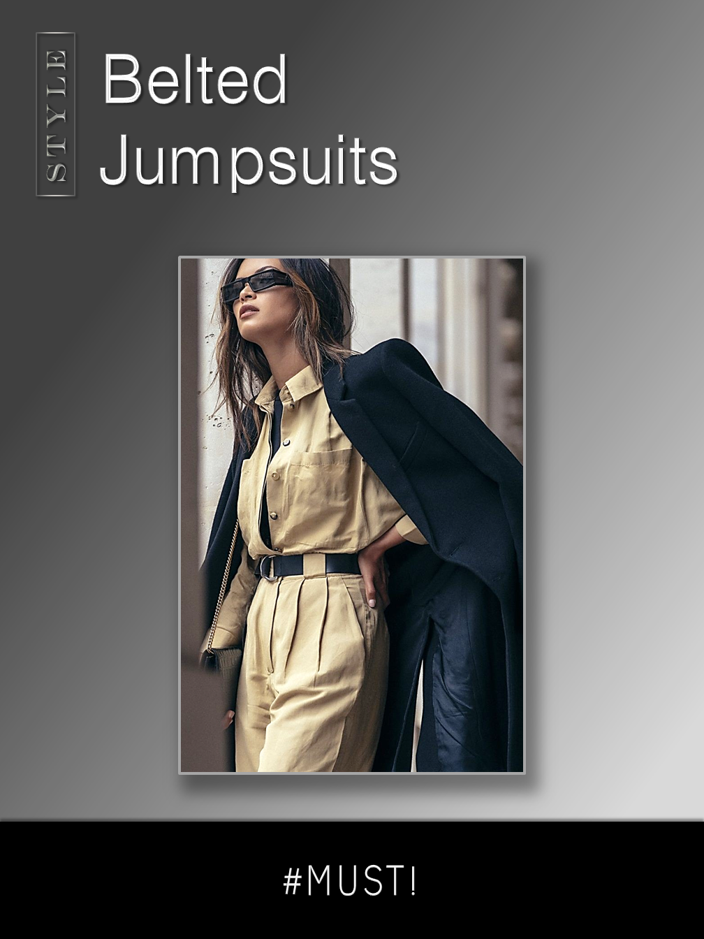 Belted Jumpsuits