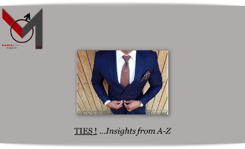 Ties: A-Z