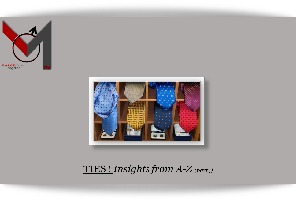 Ties - Insights from A-Z