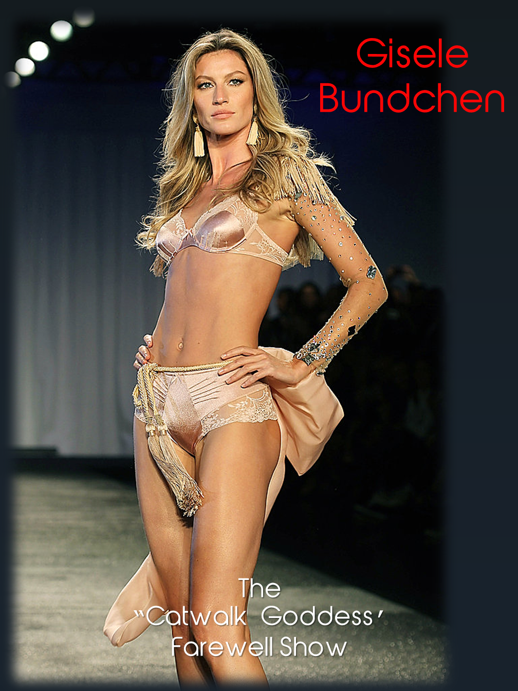 Gisele Bundchen - The last catwalk